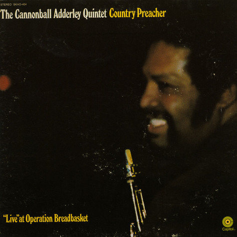 The Cannonball Adderley Quintet - Country Preacher