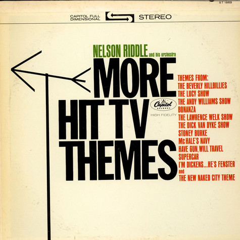 Nelson Riddle And His Orchestra - More Hit TV Themes