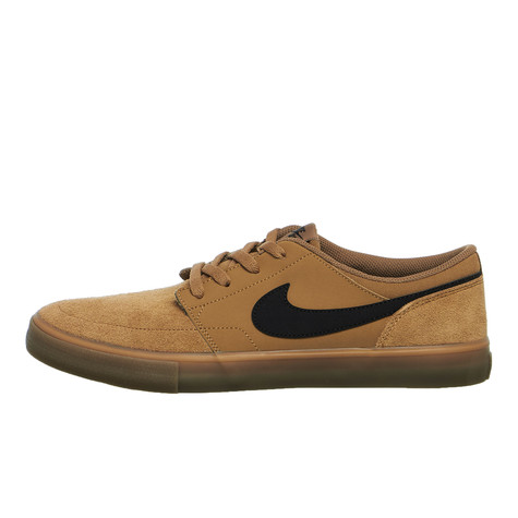 nike sb solarsoft portmore ii golden beige black gum light brown white. Black Bedroom Furniture Sets. Home Design Ideas