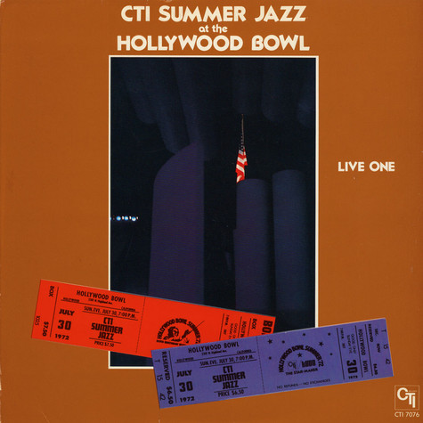 CTI All-Stars - CTI Summer Jazz At The Hollywood Bowl Live One