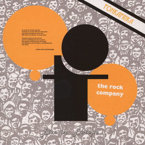 OFO The Rock Company - Live In Europe - Fonk Africa