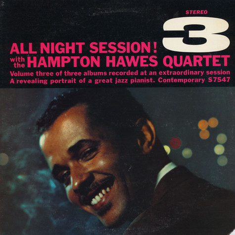 Hampton Hawes Quartet - All Night Session, Vol. 3