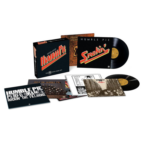 Humble Pie - The A&M Vinyl Boxset 1970 - 1975