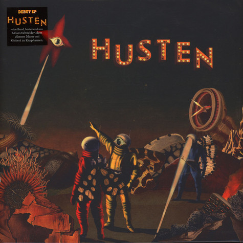 Husten - Husten Red Vinyl Edition