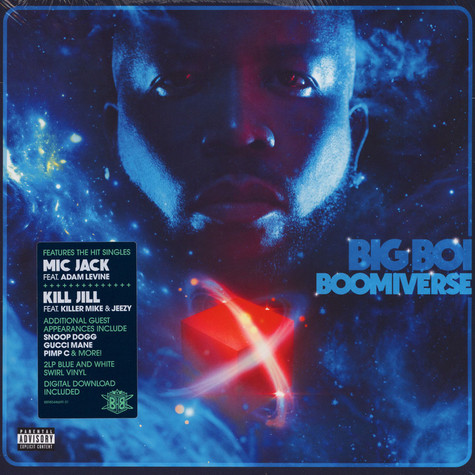Big Boi Of Outkast - Boomiverse