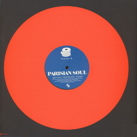 Parisian Soul - Billy Who? / Keep On Dancing