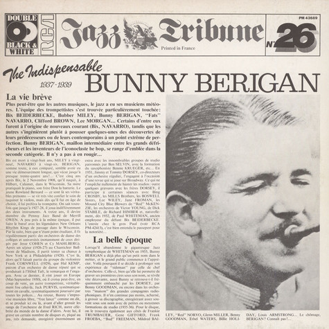 Bunny Berigan - The Indispensable Bunny Berigan