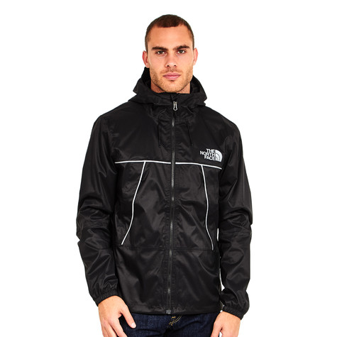 The tnf Q Face North 1990 Mountain Silver Black Jacket rPqr64afnw