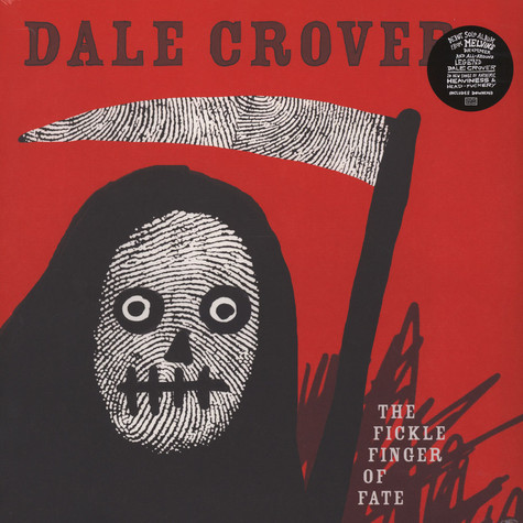 Dale Crover - The Fickle Finger Of Fate Black Vinyl Edition