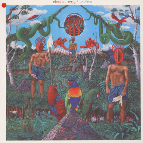 Electric Egypt - Exotica Red Vinyl Edition