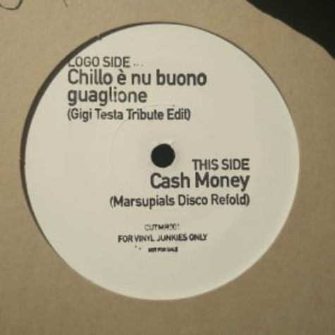 Gigi Testa & Marsupials - Chillo E Nu Buono Guaglione / Cash Money
