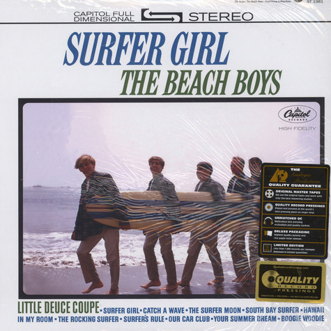 Beach Boys, The - Surfer Girl 45RPM, 200g Vinyl Edition