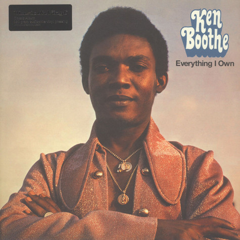 Ken Boothe - Everything I Own Black Vinyl Edition