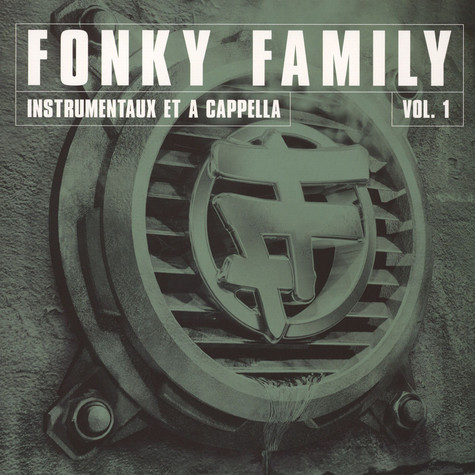 Fonky Family - Instrumentaux Et A Cappella Volume 1 Clear Orange Vinyl Edition