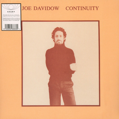 Joe Davidow - Continuity Black Vinyl Edition
