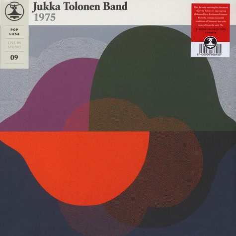Jukka Tolonen Band - Pop-Liisa 9 Colored Vinyl Edition
