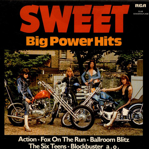 Sweet, The - Big Power Hits
