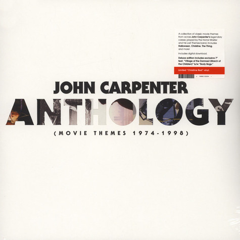 John Carpenter - Anthology: Movie Themes 1974-1998 Colored Vinyl Edition