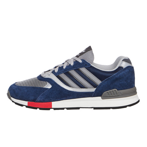check out 0fb4c fec38 adidas. Quesence (Collegiate Navy   Scarlet   Grey ...