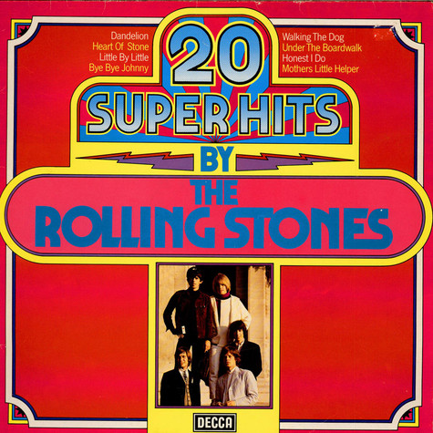 Rolling Stones, The - 20 Super Hits By The Rolling Stones