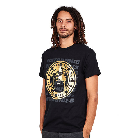 Notorious B.I.G. - Gold Circle T-Shirt