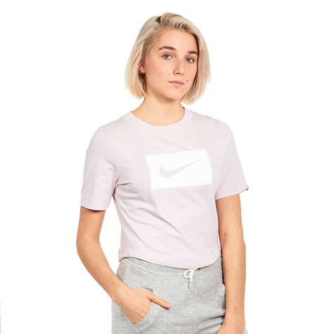 ee1df696ea2 Nike - WMNS NSW Top SS Crop Swoosh (Barely Rose / White) | HHV
