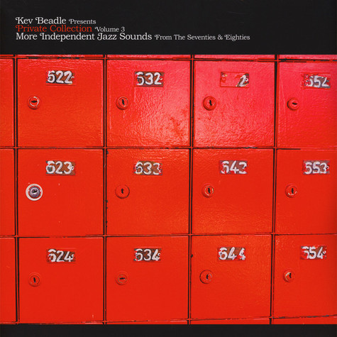 Kev Beadle - Private Collection Volume 3 - More Independent Jazz Sounds From The 70s & 80s