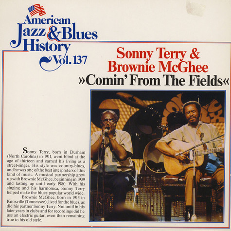 Sonny Terry & Brownie McGhee - Comin' From The Fields