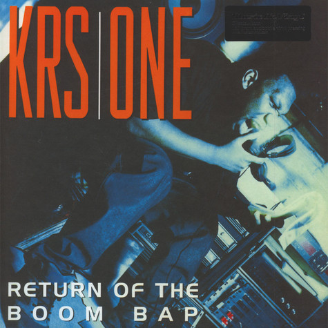 Krs One - Return Of The Boom Bap Black Vinyl Edition