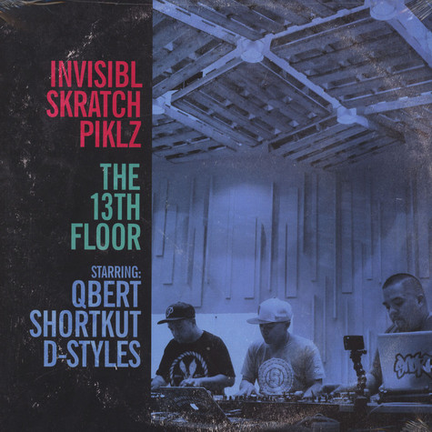 Invisibl Skratch Piklz - The 13th Floor Baby Blue Vinyl Edition (Damged Sleeves)
