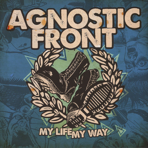 Agnostic Front - My Life, My Way Colored Vinyl Edition