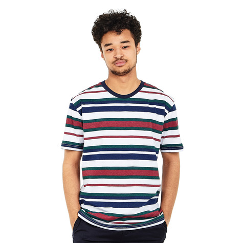 Cleptomanicx - Multi Stripe T-Shirt