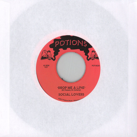 Social Lovers - Drop Me A Line / Your Heart To Me