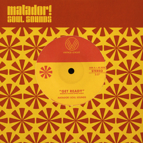Matador! Soul Sounds - Get Ready / Mr. Handsome