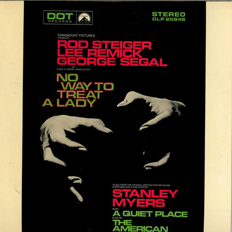 Stanley Myers - OST No Way To Treat A Lady