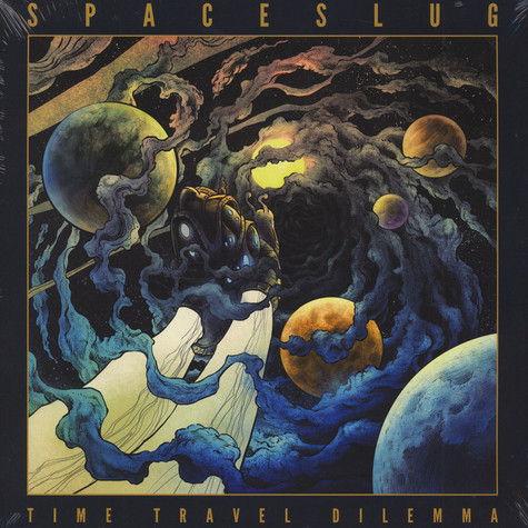 Spaceslug - Time Travel Dilemma Yellow Vinyl Edition
