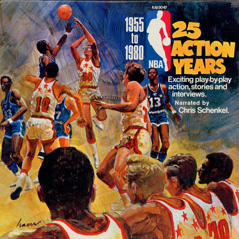 Chris Schenkel - 25th Anniversary NBA, 25 Action Years