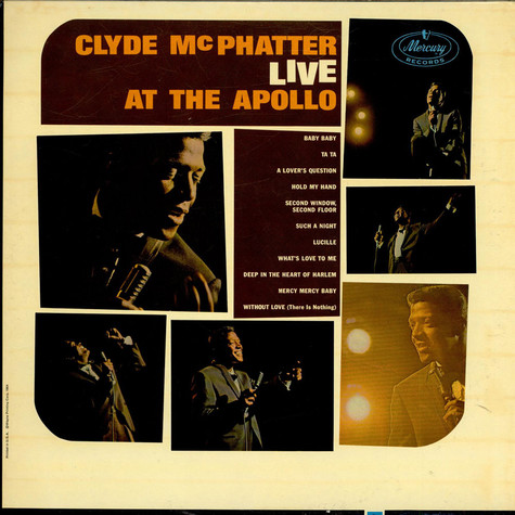 Clyde McPhatter - Live At The Apollo