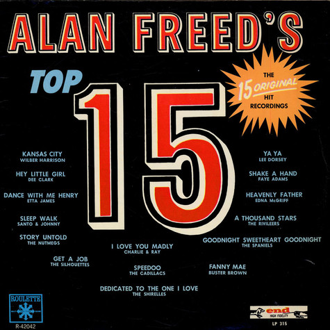 V.A. - Alan Freed's Top 15