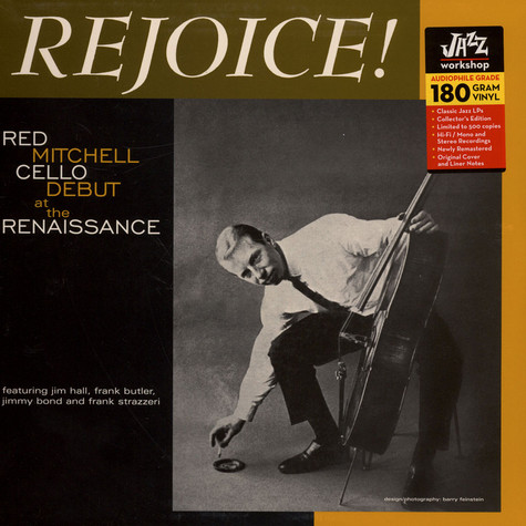 Red Mitchell - Rejoice!