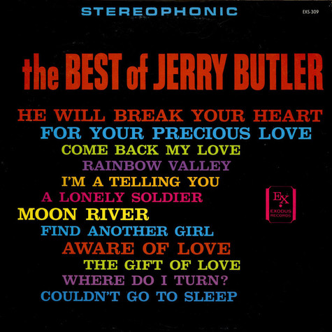 Jerry Butler - The Best Of Jerry Butler