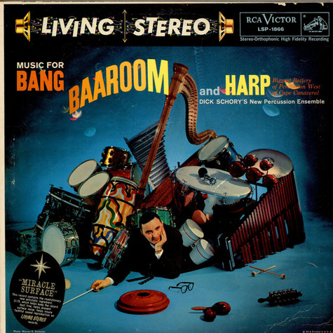 Dick Schory' - Music For Bang, Baaroom And Harp