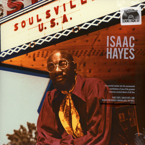 Isaac Hayes - The Sprit Of Memphis