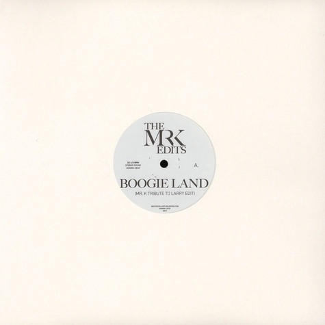 Mr. K - Boogie Land / Lady, Lady, Lady