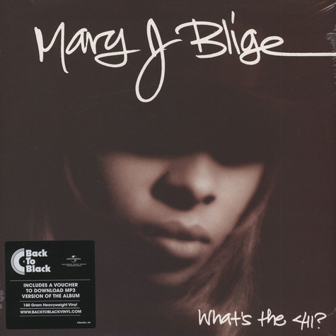 Mary J. Blige - What's The 411? 25th Anniversary Vinyl Edition