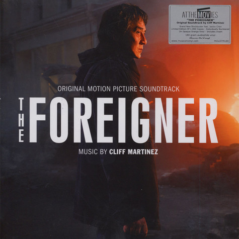 Cliff Martinez - OST The Foreigner Colored Vinyl Edition