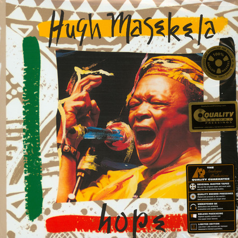 Hugh Masekela - Hope 200g Vinyl Edition