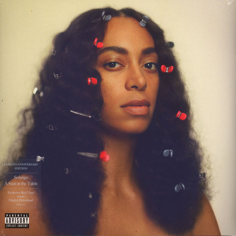 Solange Knowles - A Seat At The Table Red Vinyl Edition