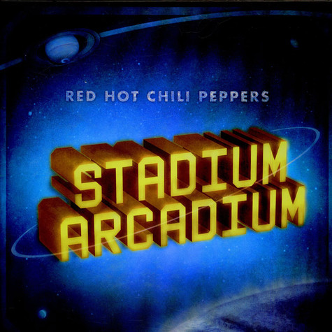 Red Hot Chili Peppers Stadium Arcadium Vinyl 4lp Box