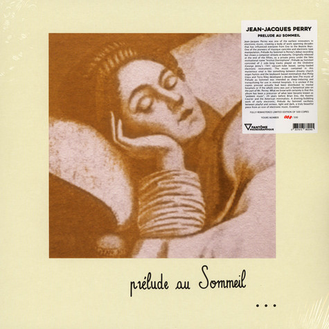Jean-Jacques Perrey - Prelude Au Sommeil